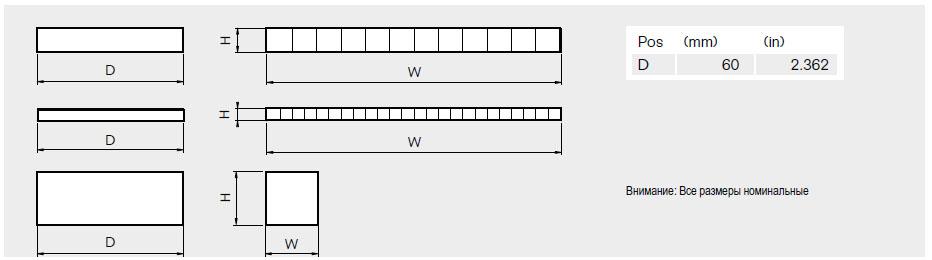 Компенсационные цельнорезиновые модули RM